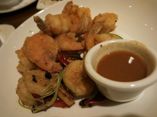how to cook salt and pepper prawns