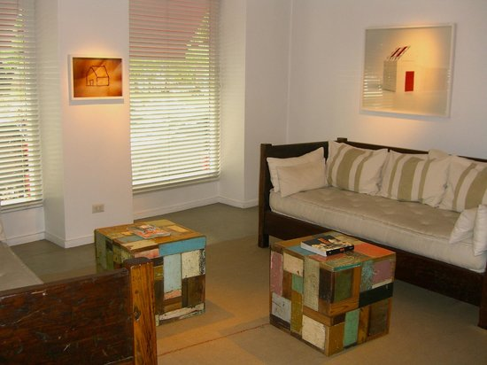 Craft Boutique Hotel: the common area