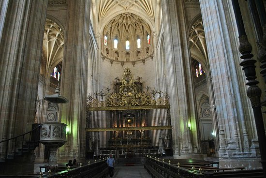 interno cattedrale - Picture of Segovia, Province of ...