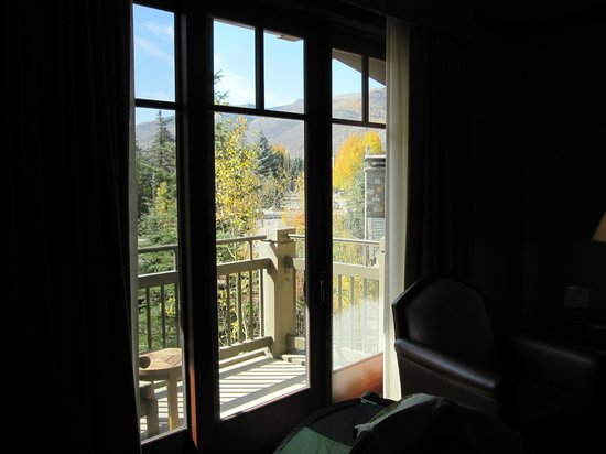 Four Seasons Resort Vail: view from suite