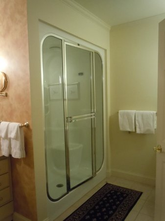 The Inn at Thorn Hill & Spa: Room 3 large steam shower