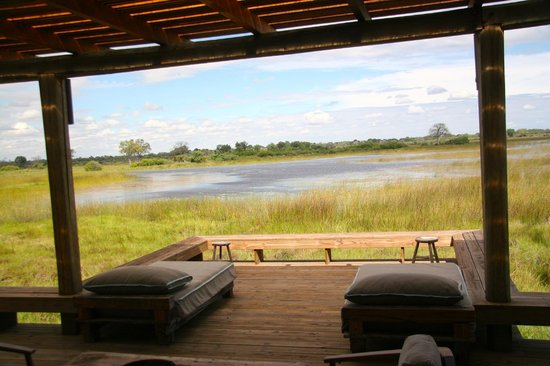 Vumbura Plains Camp: The VIEW!