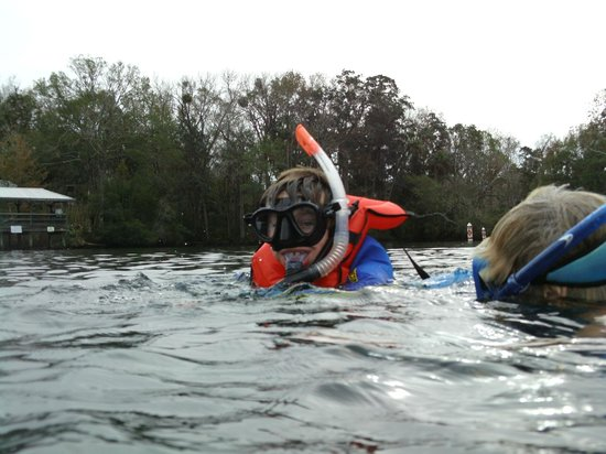 Homosassa, FL: Christopher's first experience.. thanks Capt Laura !