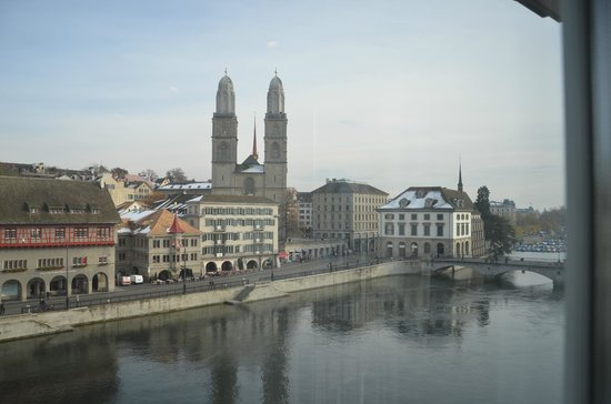 Storchen Zurich: Our view from the room