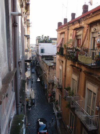 Le Stanze del Vicere': View of Via Stella