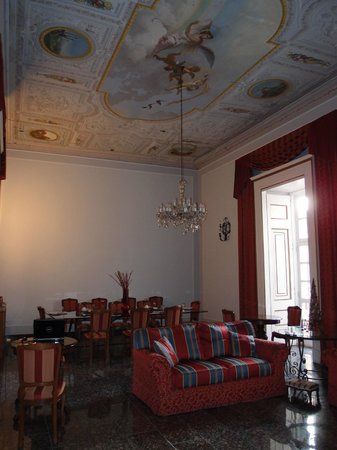 Le Stanze del Vicere' : Awesome breakfast room