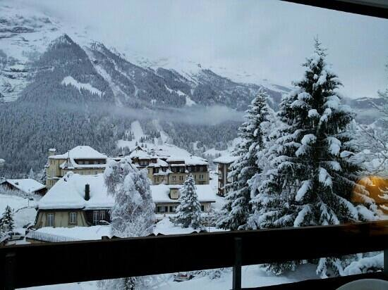 Hotel Restaurant Alpina Grindelwald: balcony view from room 206