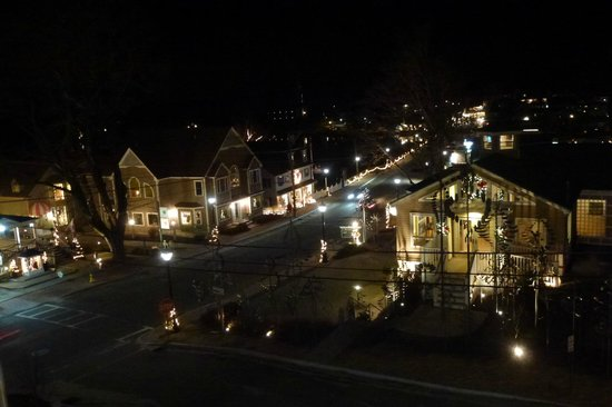 "The Grand Hotel: View from our ""mini balcony"" looking toward down town Kennebunkport"