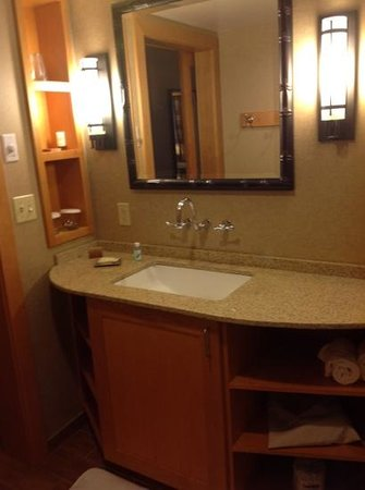 High Peaks Resort: well- designed vanity