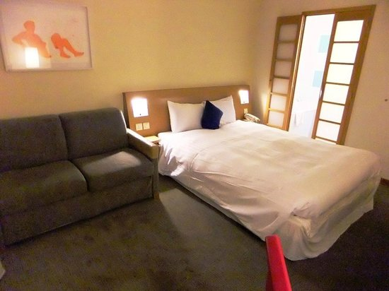 Novotel London Heathrow: Bedroom