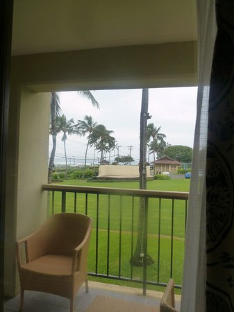 Sheraton Kauai Resort: Ocean View?