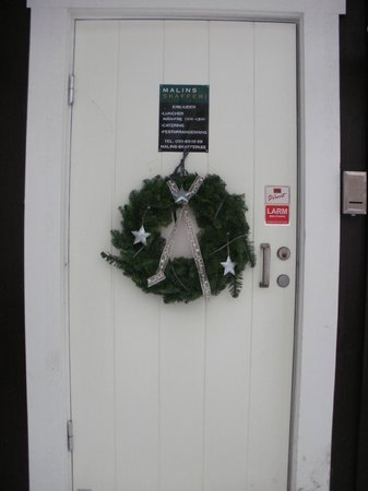 Nya Varvet Studios: Entrance door of building 28