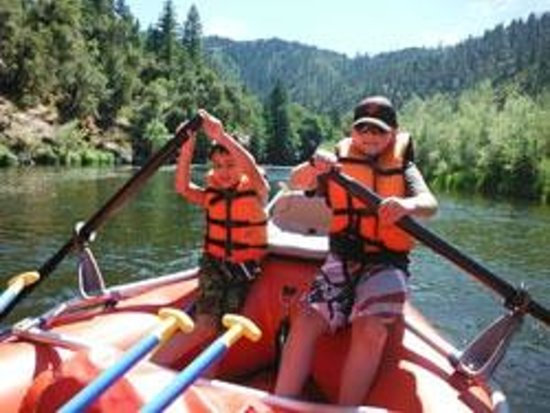 Happy Camp, Калифорния: Klamath River Rafting with Klamath River Resort Inn