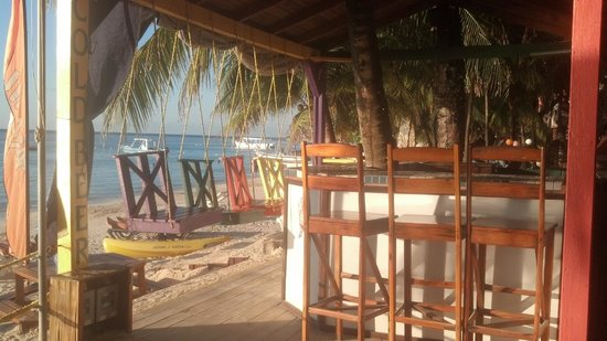 Bananarama Beach and Dive Resort: Beach Bar