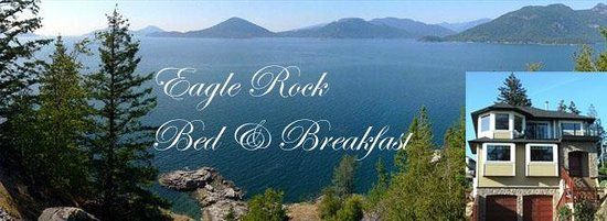 Eagle Rock Bed and Breakfast Chemainus: View from Eagle Rock Bed and Breakfast