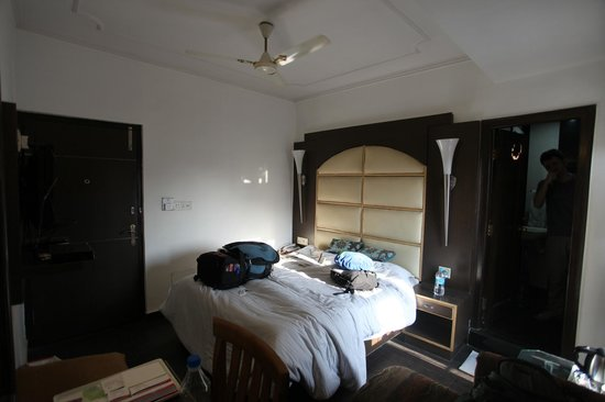 Hotel Sri Nanak Continental : Adequate bedroom