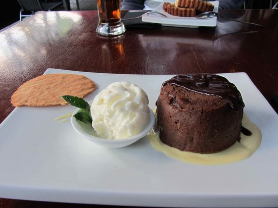 Hamilton, Nowa Zelandia: Choc fondant