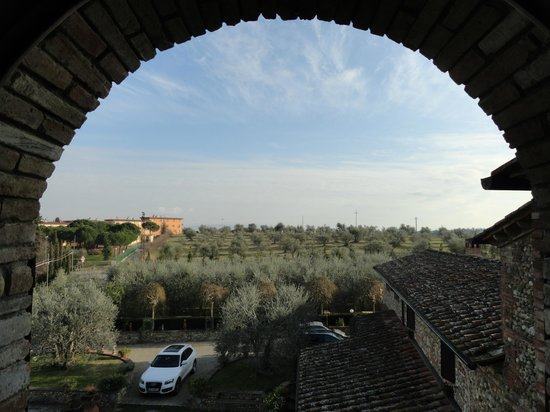 Villa Le Torri: View from the room