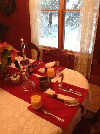 The Miller's Daughter Bed and Breakfast: before breakfast was served