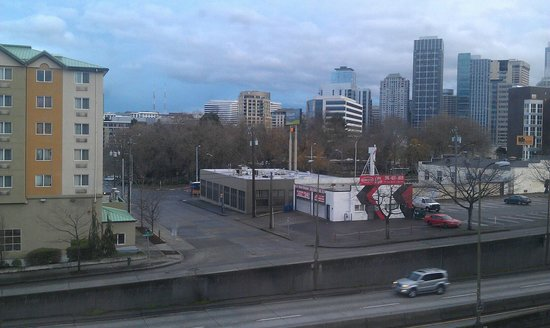 Quality Inn &amp; Suites Seattle: View from our room