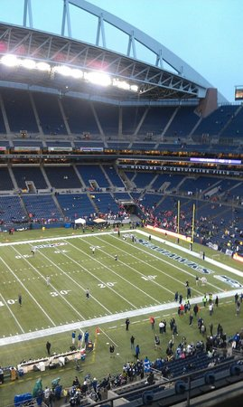 Quality Inn & Suites Seattle: CenturyLink Field for Seahawks Game