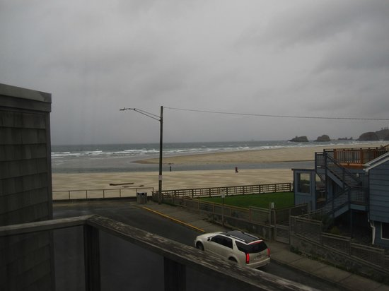 Land's End at Cannon Beach: View from the private balcony