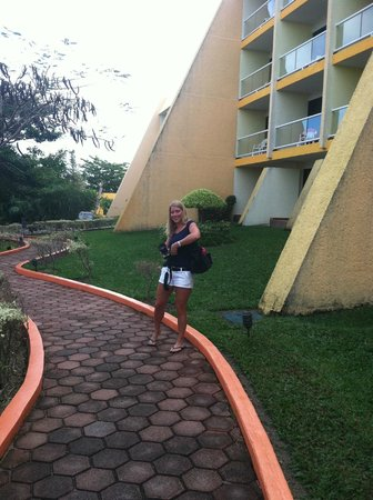 Melia Vacation Club Cozumel, All inclusive & Golf: Walking the grounds