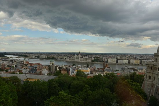 Hilton Budapest - Castle District: View from room