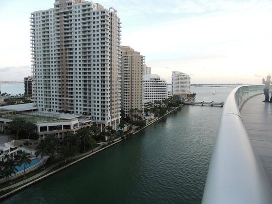 Viceroy Miami: view of Biscayne Bay