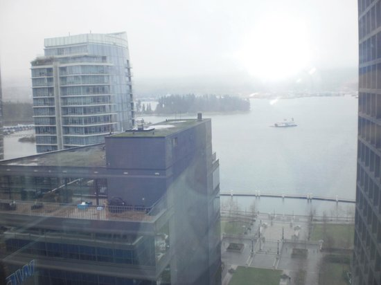 Coast Coal Harbour Hotel: view from the 19th floor