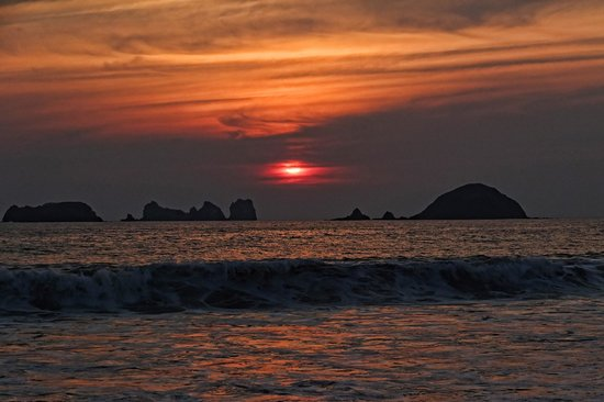 Sunscape Dorado Pacifico Ixtapa: Great sunsets
