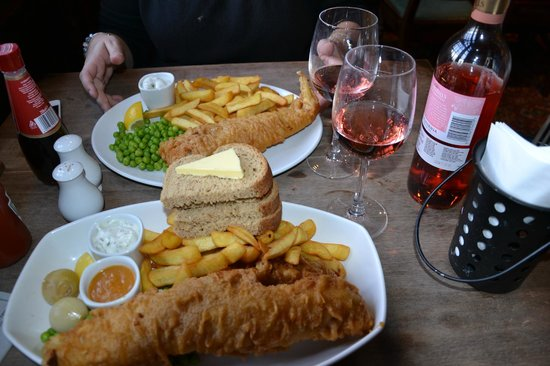 Int rieur picture of anchor bankside london tripadvisor for Anchor fish and chips