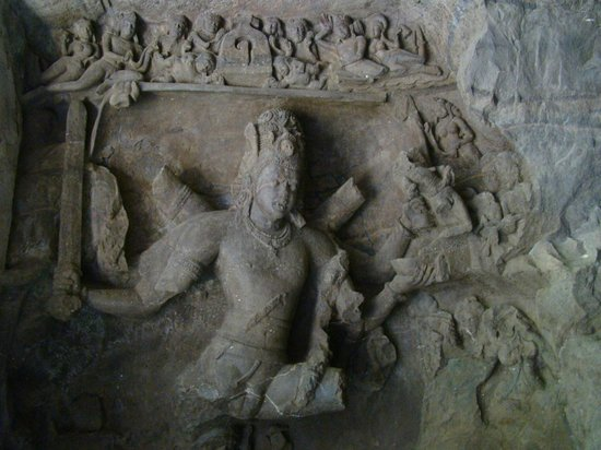 Elephanta Caves: A variable