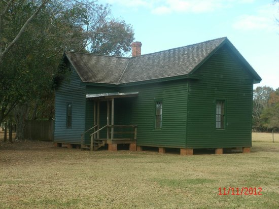 Plains, Georgien: Farmhands House at the Carter Homestead