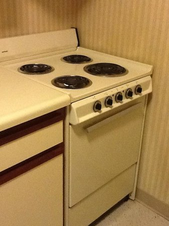 Extended Stay America - Des Moines - West Des Moines: Kitchen Stove