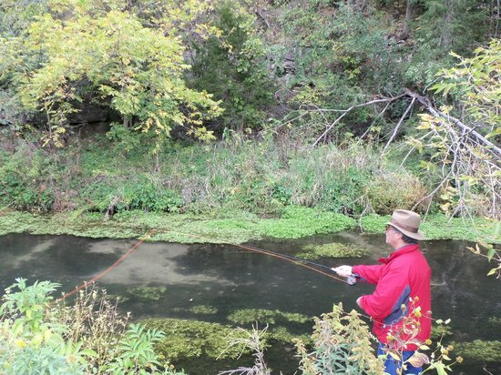 Lanesboro, MN: Their own private trout stream for use