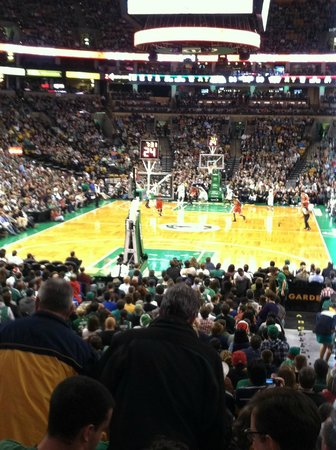 Loge 6 Row 16 Picture Of Td Garden Boston Tripadvisor