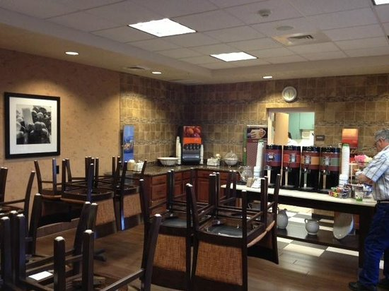Hampton Inn Phoenix / Glendale / Peoria: Breakfast Area