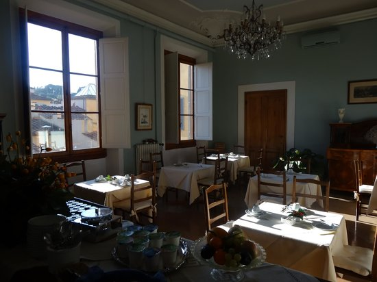 Hotel Palazzo Guadagni: Breakfast room