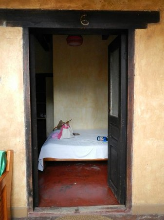 Posada del Abuelito: Looking into our private room