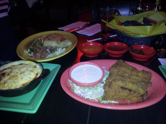 Route 66 Casino Hotel: a lot of food at the Thunder Road Cantina!