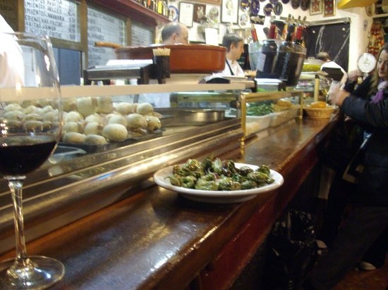 Insider's Madrid : Yummy Fried Artichokes!