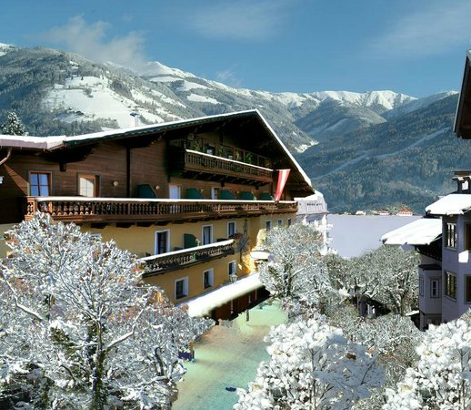 Das Hotel Fischerwirt im Winter