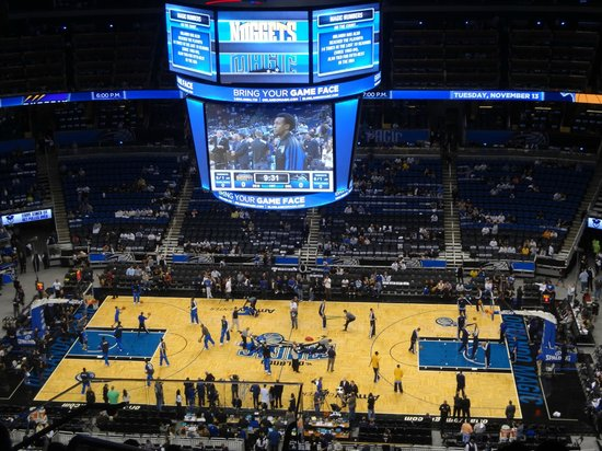 Hotels Near Amway Center