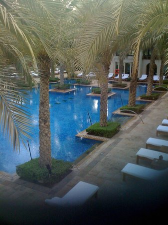 Hyatt Regency Dubai: Hotelpool