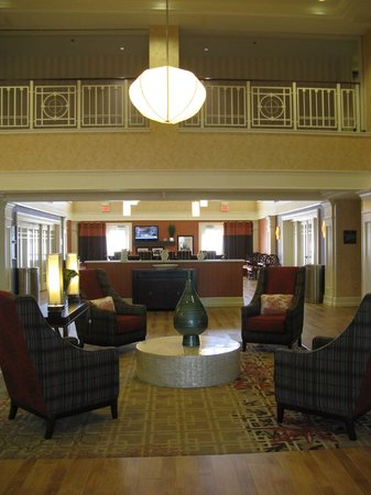 Hampton Inn & Suites Outer Banks/ Corolla: Lobby -- Hampton Inn & Suites, Corolla, NC