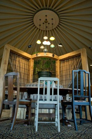 The Devonshire Arms: Remember the tented ceiling