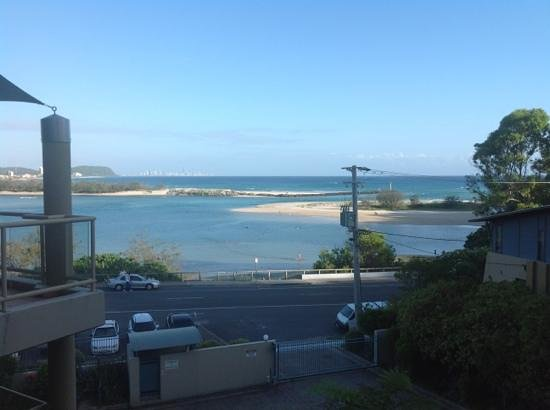 Currumbin, Australia: view from apartment