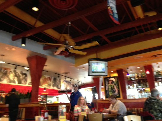 Grandville, MI: French Fry ceiling fan