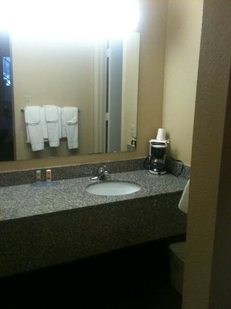 Econo Lodge Biltmore: sink area